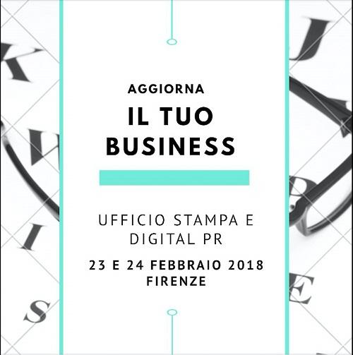 Corso Ufficio stampa e digital PR - Firenze 23 e 24 febbraio 2018